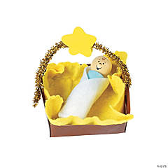 Baby Jesus Christmas Ornament Craft Kit