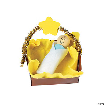 Baby Jesus Ornament Craft Kit