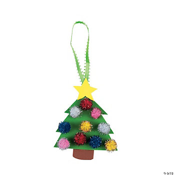 Christmas Tree Ornament Craft Kit