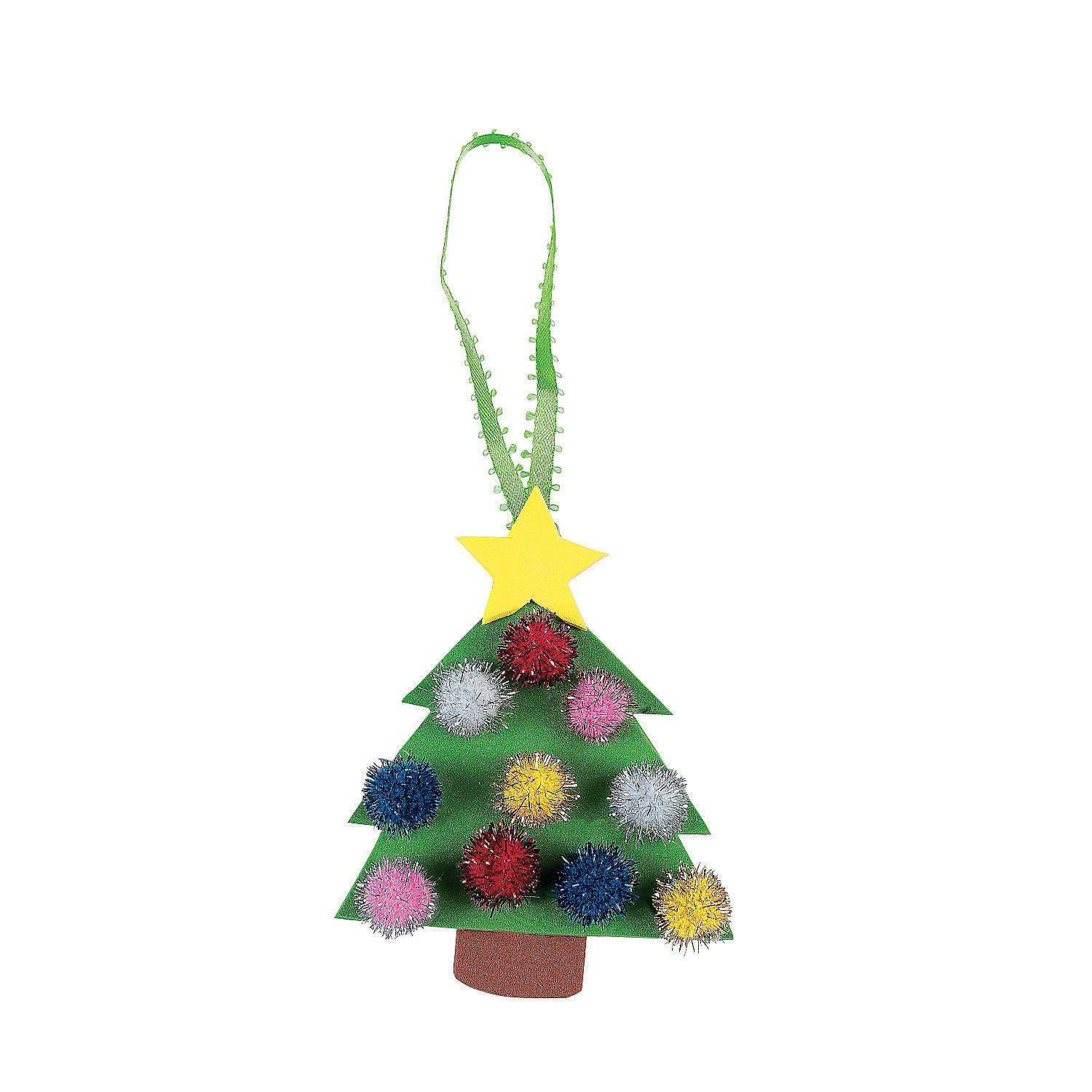 christmas tree ornament craft kit in 48 6329 christmas tree ornament ...