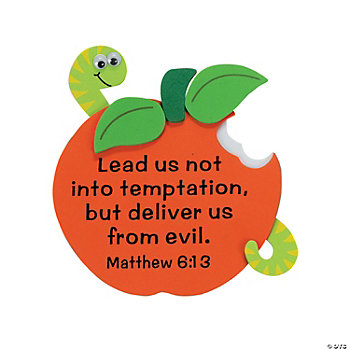 Apple With Bible Verse Magnet Craft Kit