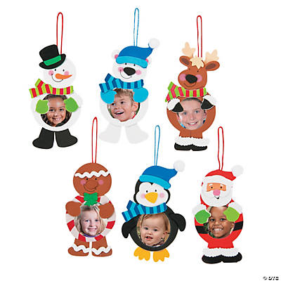 Christmas Character Picture Frame Ornament Craft Kit