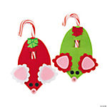 24 Pc. Mouse Candy Cane Craft Kit