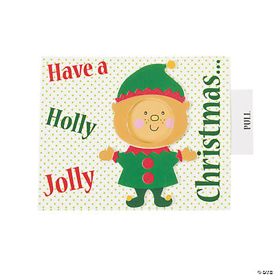 Elf Picture Frame Card Christmas Craft Kit