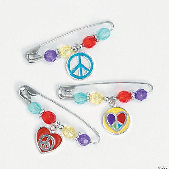 Peace & Love Pin Craft Kit