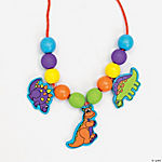 Beaded Dinosaur Necklaces Craft Kit