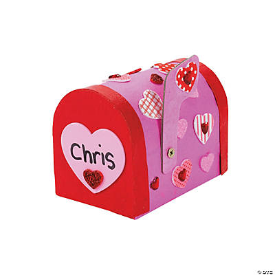 Mailbox Ideas For Valentines Valentine Mailbox Craft Kit