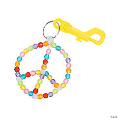 Peace Sign Bag Tag Craft Kit