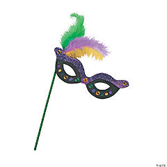 Mardi Gras Mask Craft Kit