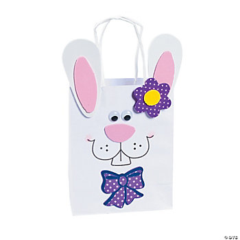 Bunny Gift Bag Craft Kit