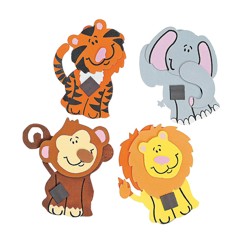 Zoo Animal Magnet Craft Kit - Oriental Trading - photo#17