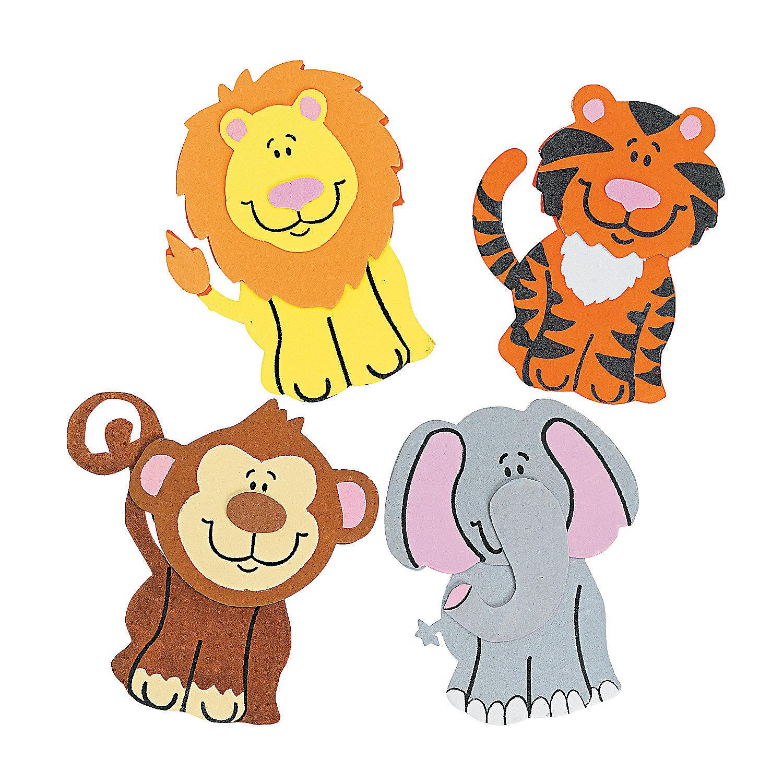 Zoo Animal Magnet Craft Kit - Oriental Trading - photo#19