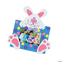 Bunny Photo Frame Magnet Craft Kit