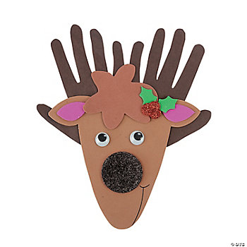 Handprint Reindeer Craft Kit