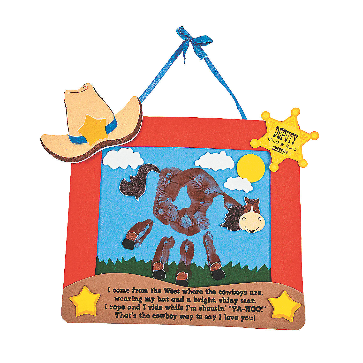 Preschool Western Themed Crafts