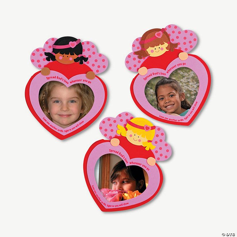 Angel Inspirational Valentine Self-Adhesive Picture Foam Frame Craft ...