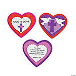 Inspirational Heart Magnet Valentine Craft Kit
