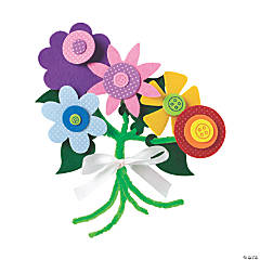 Self-Adhesive Flower Bouquet Craft Kit