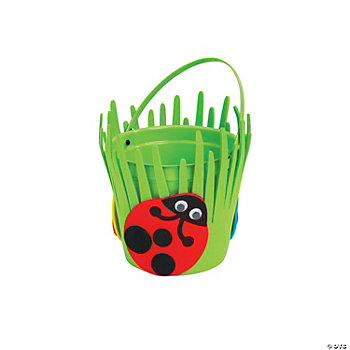 Spring Ladybug Bucket Craft Kit