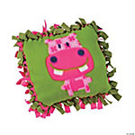 """The Critter Club"" Fleece Pillow Craft Kit"