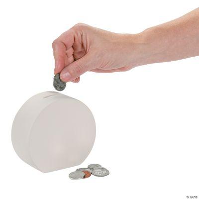DIY Ceramic Round Banks