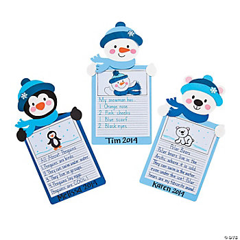 Winter Stories Craft Kit