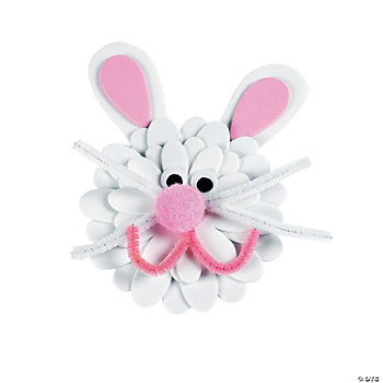 Flower Bunny Magnet Craft Kit
