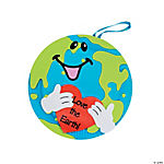 Love the Earth Paper Plate Decorations Craft Kit
