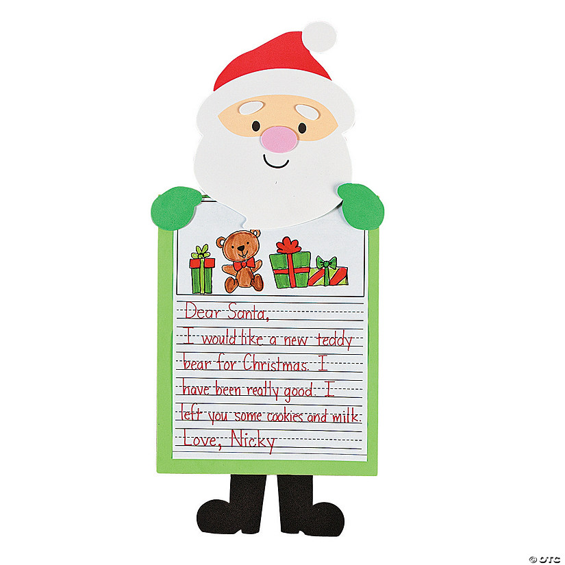 Letter to santa stories craft kit discontinued letter to santa stories craft kit spiritdancerdesigns Gallery