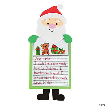 Letter To Santa Stories Craft Kit