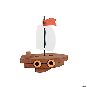3D Floating Foam Ship Craft Kit