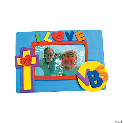 I Love VBS Photo Magnet