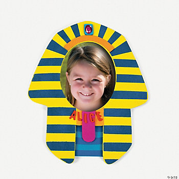 Self-Adhesive Pharaoh Photo Frame Magnet Craft Kit