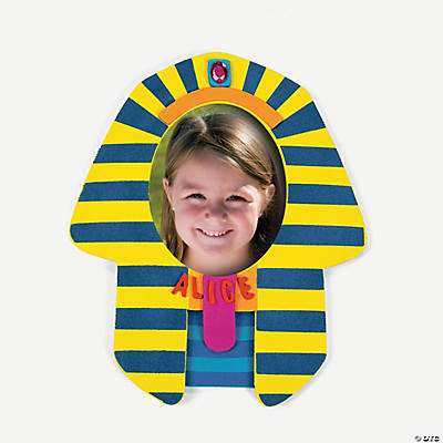 Pharaoh Picture Frame Magnet Craft Kit