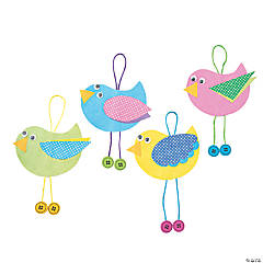 Spring Bird Ornament Craft Kit