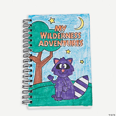 Color Your Own Camp Journals