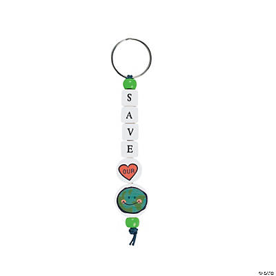 Save Our Planet Key Ring Craft Kit