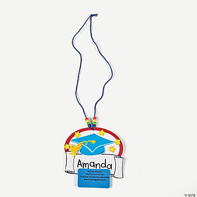 Graduation Beaded Name Tag Craft Kit