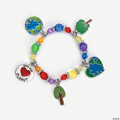 """Save Our Planet"" Charm Bracelet Craft Kit"