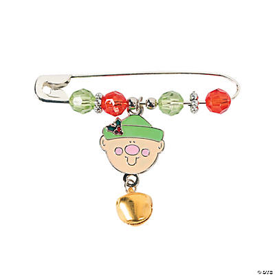 Beaded Elf Charm Pin Craft Kit