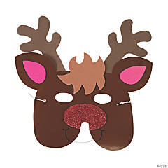 Reindeer Mask Craft Kit