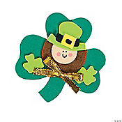 Leprechaun Magnet Craft Kit