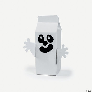Ghost Face Carton Craft Kit