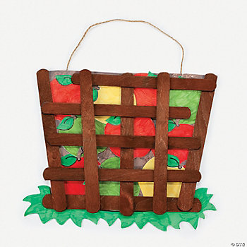 Apple Basket Craft Kit