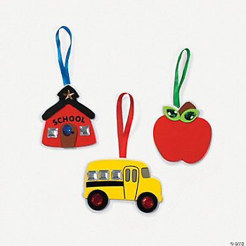 School Time Jewel Ornament Craft Kit