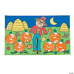 Jack-O-Lantern Apple Craft Kit