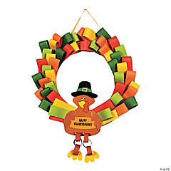 Loopy Turkey Wreath Craft Kit