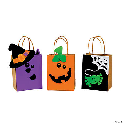 Halloween Friends Trick-Or-Treat Bags
