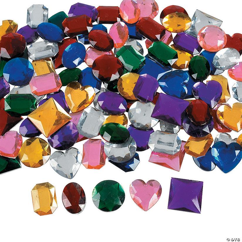 Jumbo self adhesive jewels
