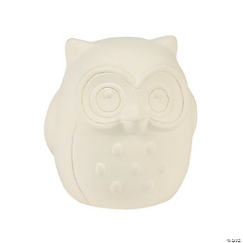DIY Ceramic Owls